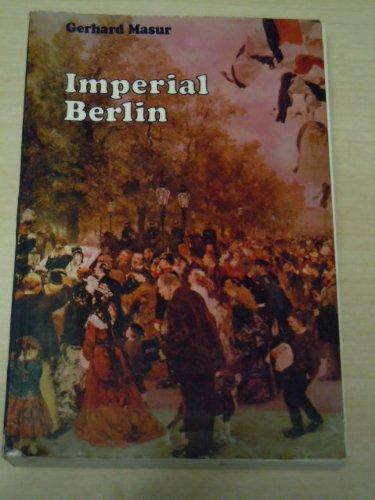 9780710078193: Imperial Berlin