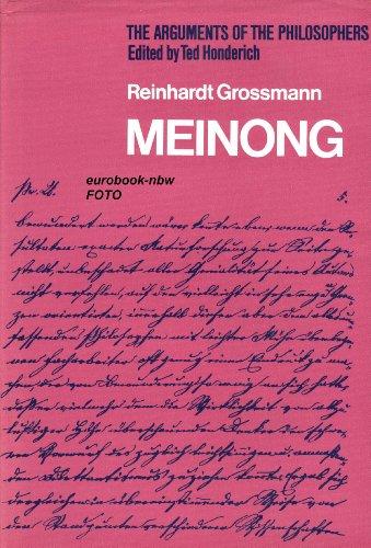 Meinong: Grossmann, Reinhardt
