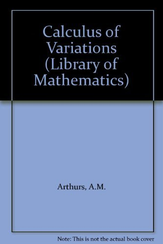 9780710078858: Calculus of Variations (Library of Mathematics)