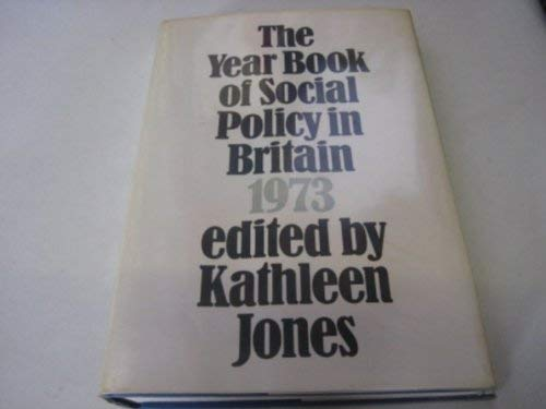Year Book of Social Policy in Britain
