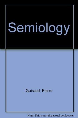 9780710080059: Semiology