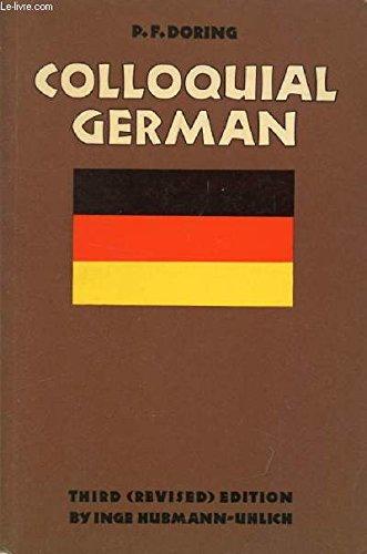 9780710080325: Colloquial German
