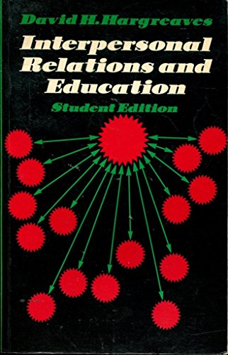 9780710080813: Interpersonal Relations and Education