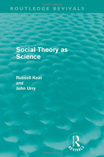 9780710081261: Social Theory As Science