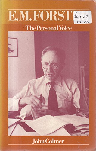 9780710082091: E.M. Forster: The Personal Voice