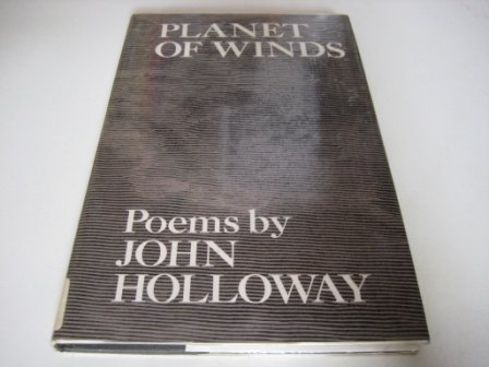 PLANET OF WINDS. Poems: Holloway, John