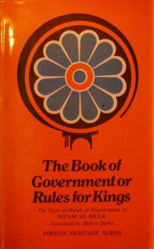 Book of Government or Rules for Kings: Al-Mulk, Nizam
