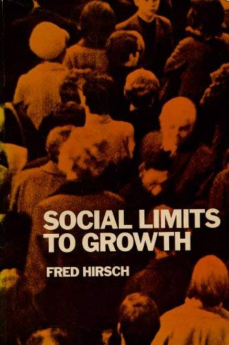 9780710087119: Social Limits to Growth