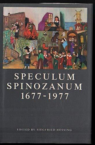 9780710087164: Speculum Spinozanum, 1677-1977