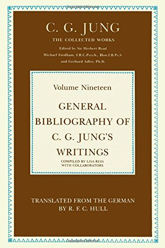 9780710089151: Collected Works: General Bibliography of C.G.Jung's Writings v. 19