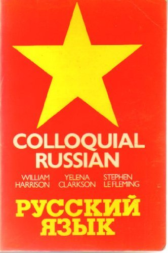 9780710089656: Colloquial Russian (Trubner's Colloquial Manual)