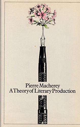 9780710089786: Theory of Literary Production (English and French Edition)