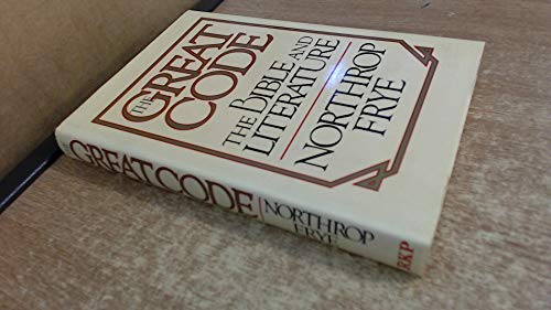 9780710090386: Great Code: Bible and Literature