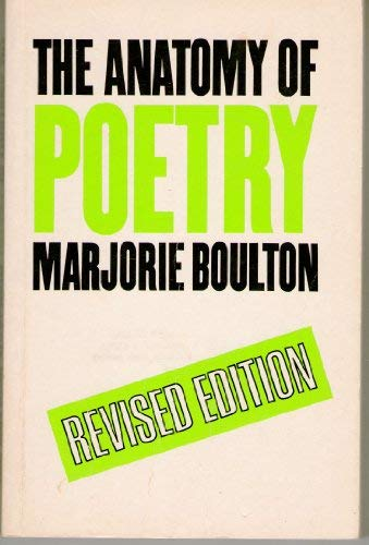 9780710090874: The anatomy of poetry