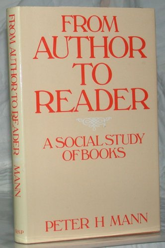 From Author to Reader: A Social Study of Books