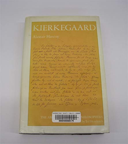 9780710091901: Kierkegaard (Arguments of the Philosophers)