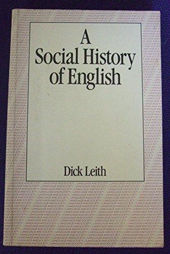 9780710092618: Social History of English