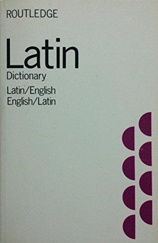 9780710092670: Latin-English and English-Latin Dictionary
