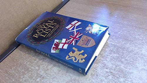 9780710093585: Book of Royal Lists