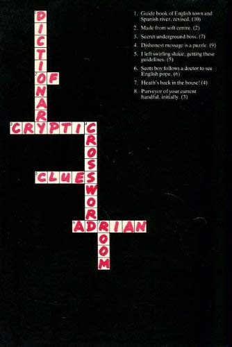 Dictionary of Cryptic Crossword Clues: Room, Adrian