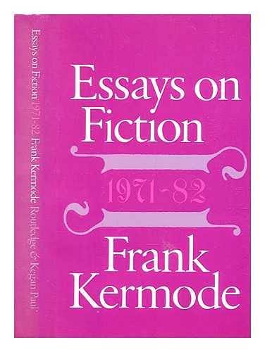 9780710094421: Essays on Fiction