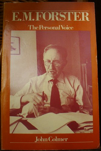 9780710094964: E.M. Forster: The Personal Voice