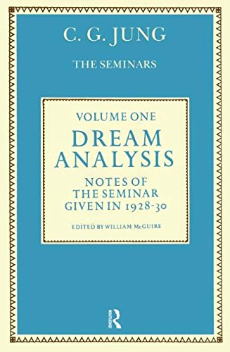Dream Analysis 1: Notes of the Seminar: C. G. Jung