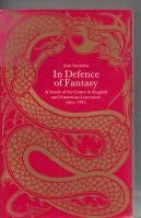 9780710095251: In Defence of Fantasy: Study of the Genre in English and American Literature Since 1945