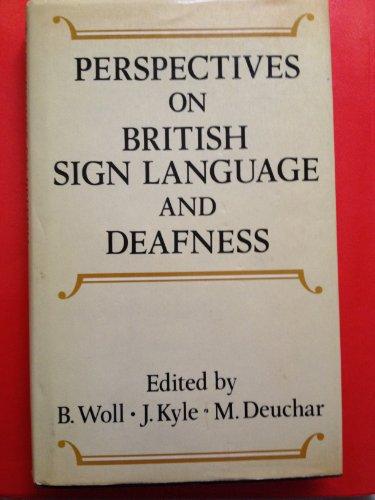 9780710096432: British Sign Language (Language, Education, and Society)