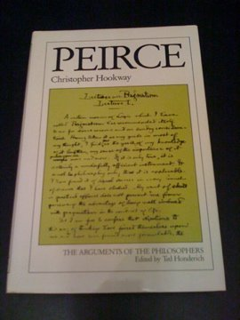 9780710097156: Peirce (Arguments of the Philosophers)