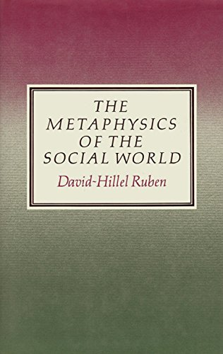 9780710098269: The Metaphysics of the Social World
