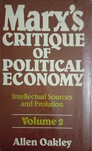 9780710099457: Marx's Critique of Political Economy: 1861-63 v. 2: Intellectual Sources and Evolution