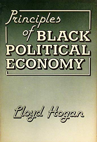 9780710202413: Principles of Black Political Economy
