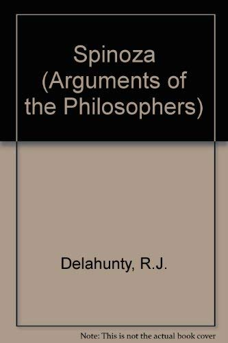 9780710203755: Spinoza (Arguments of the Philosophers)