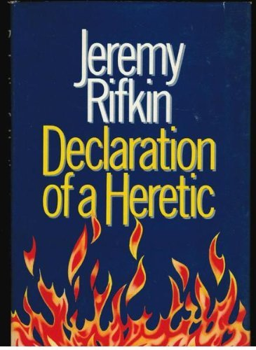 9780710207098: Declaration of a Heretic
