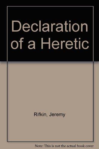 9780710207104: Declaration of a Heretic