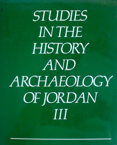 9780710207340: Studies in the History and Archaeology of Jordan