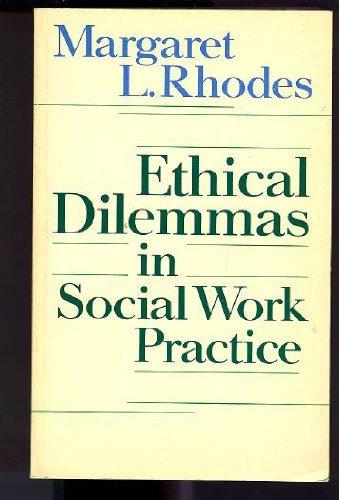 9780710207555: Ethical dilemmas in social work practice