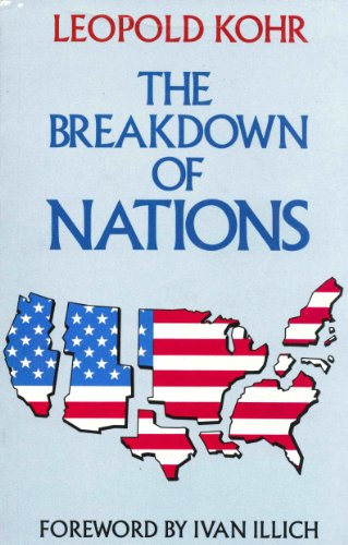 9780710208897: The Breakdown of Nations