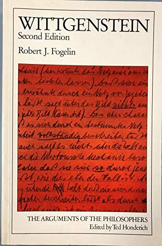 9780710209757: Wittgenstein (Arguments of the Philosophers)