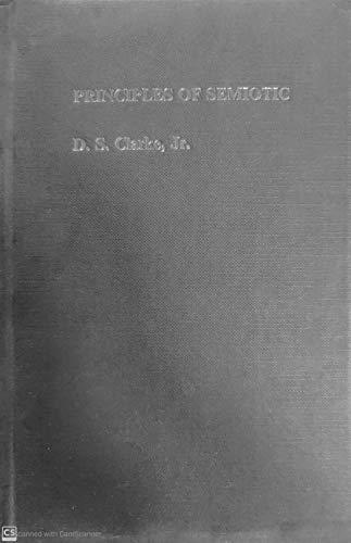 9780710209818: Principles of Semiotic