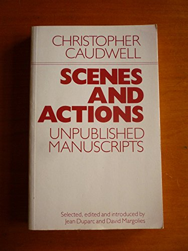 9780710209856: Scenes and Actions: Unpublished Manuscripts