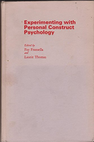 9780710210623: Experimenting with Personal Construct Psychology