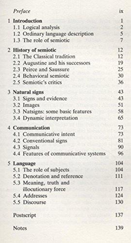 9780710211361: Principles of Semiotic