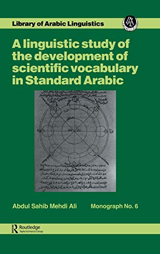 9780710300232: Ling Stu Of Dev Scient Vocab Ara (Library of Arabic Linguistics Monograph)