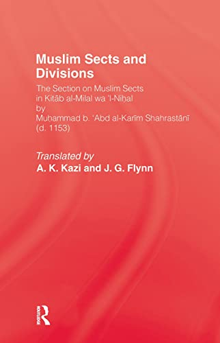 9780710300638: Muslim Sects and Divisions