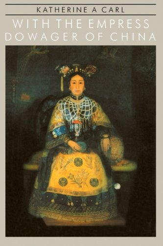 9780710302182: With the Empress Dowager Of China (Pacific Basin Books)