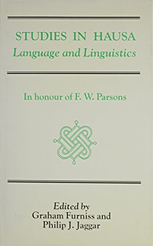 9780710302823: Studies In Hausa Language (African languages = Langues africaines. Occasional publication)