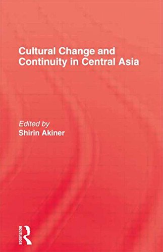 9780710303516: Cultural Change and Continuity in Central Asia