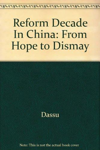 Reform Decade In China: Dassu
